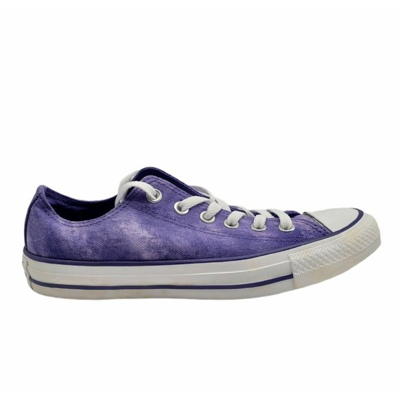 Converse All Star Unisex  Lace Up Purple Shoes